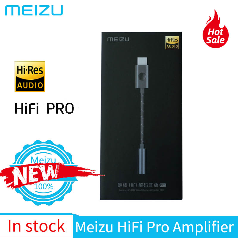 Meizu HiFi Audio Pro type-c à 3.5mm DAC décodage casque amplificateur adaptateur pour Meizu 16th 16s Pro Android/Windows/Mac OS