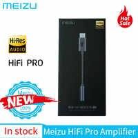 Meizu HiFi de Áudio tipo Pro-c a 3.5mm Adaptador de Fone De Ouvido Amplificador DAC decodificação para Meizu 16th 16s pro Android/Windows/Mac os