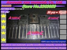 Aoweziic 2018+ 100%new imported original 2SA1386A P 2SC3519A P 2SA1386A 2SC3519A A1386A C3519A TO 247 Power Amplifier Transistor