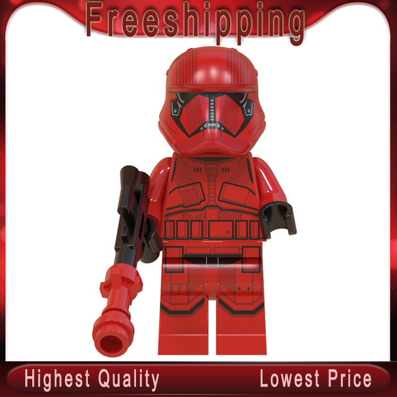 WM907 Siths Troopers Legoinglys Stars Wars Knights Of Ren MinifigurINED Educational Building Blocks Bricks Model Kits Gifts Toys