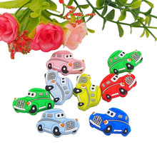 Pacifier Toy-Accessories Pendant Bracelet Necklace Car-Beads Soothing Baby Bpa-Free Silicone