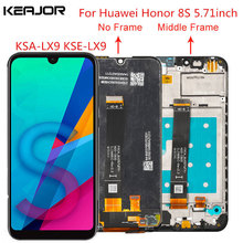 For Huawei Honor 8S Lcd Screen Tested AAA Lcd Display+Touch Screen With Frame Replacement For Huawei Honor 8S KSA-LX9 KSE-LX9
