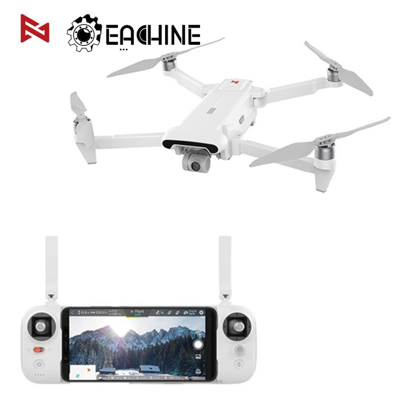 FIMI X8 SE 5KM FPV With 3-axis Gimbal 4K Camera GPS 33mins Flight Time RC Drone Quadcopter RTF Professional Foldable