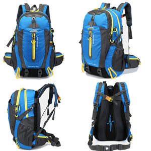 Image 3 - Men 40L unisex waterproof backpack travel pack  Hiking sports bag pack Outdoor Climbing Mountaineering Camping backpack for male