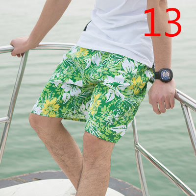Male Korean Version Of The Trend Of Self-cultivation Men's Pants 2019 New Wave Five Pants Beach Pants