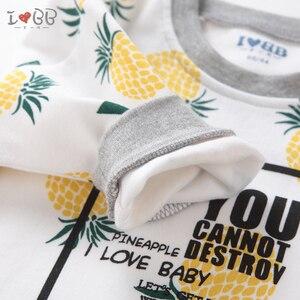 Image 5 - Bebek erkek T Shirt uzun kollu Tees giyim erkek sıcak en sevimli 6 24 ay için