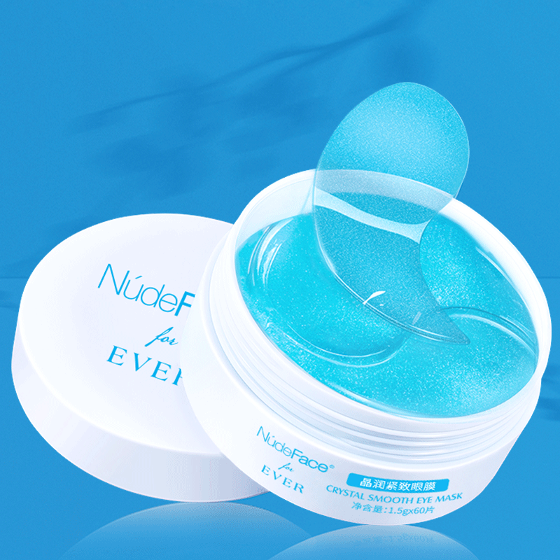 Nudeface Collageen Eye Patches Make Up Masker Crystal Smooth Oogmasker Patch Collageen Gezichtsmasker Gel Huidverzorging Crème Collageen serum