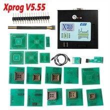 Xprog V5.55 x פרוג M תיבת 5.55 Xprog M V5.55 ECU מתכנת טוב יותר מ Xprog M V5.50 ללא USB Dongle עבור BMW CAS4 DECYPATION