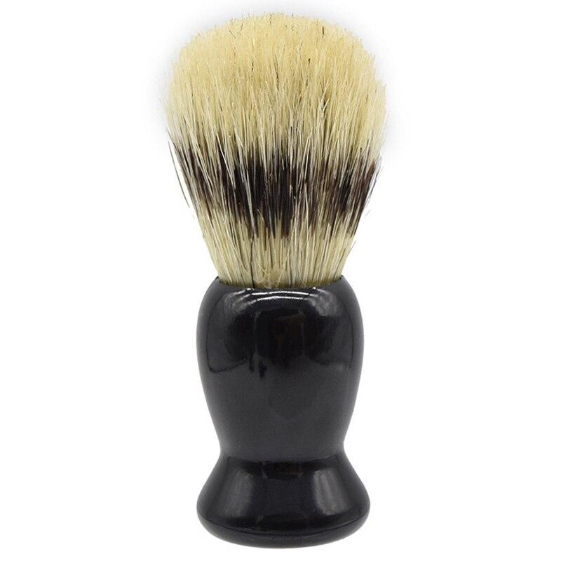 Javali macio cerdas de madeira barba escova