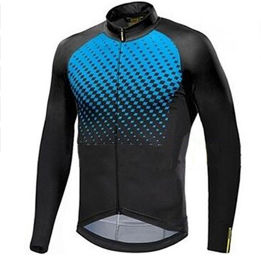 Mavic 2019 Pro team Men Long Sleeve Cycling Jersey Spring autumn Clothes Bike Outdoor Mountain Road Bicycle Clothing Breathable image