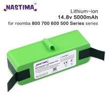 NASTIMA Atualizar 14.8V 5000mAh de iões De Lítio Bateria para iRobot Roomba Série 800 700 600 895 891 890 880 870 860 675 760 770 780