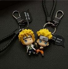 2020 Naruto Keychain Sasuke/itachi/Kakashi Acrylic Key Chain Pendant Anime Accessories Cartoon Key Ring