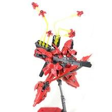 Efekt części dla Bandai RG HGUC 1/144 Sazabi Gundam zestaw modeli pływające pistolet rozszerzenie lejek efekt części