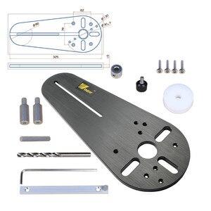 Image 3 - 1 zestaw przyrząd do cięcia koła dla małych routerów do drewna/elektryczne trymery ręczne frezowanie drewna koło frezowanie rowek