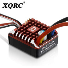 XQRC Quickrun 1080 80A waterproof brush electric speed regulating controller with program card for 1 / 10rc trx6 trx4 scx1090046(China)