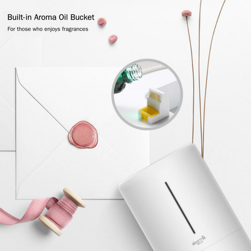 Image 3 - Original Xiaomi Home Deerma 5L Large Capacity Household Mute Air Humidifier Ultrasonic Air Humidifier Purifying Humidifier Aroma-in Humidifiers from Home Appliances