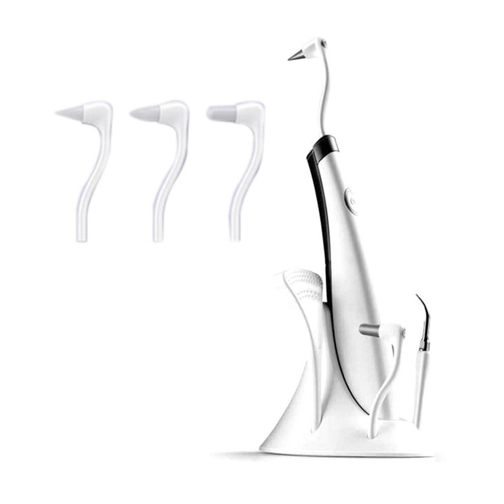 Image 2 - Elétrica ultra sonic vibração acústica dente mais limpo scaler dente cálculo removedor dentes manchas tártaro clareamento dos dentesIrrigadores orais   -
