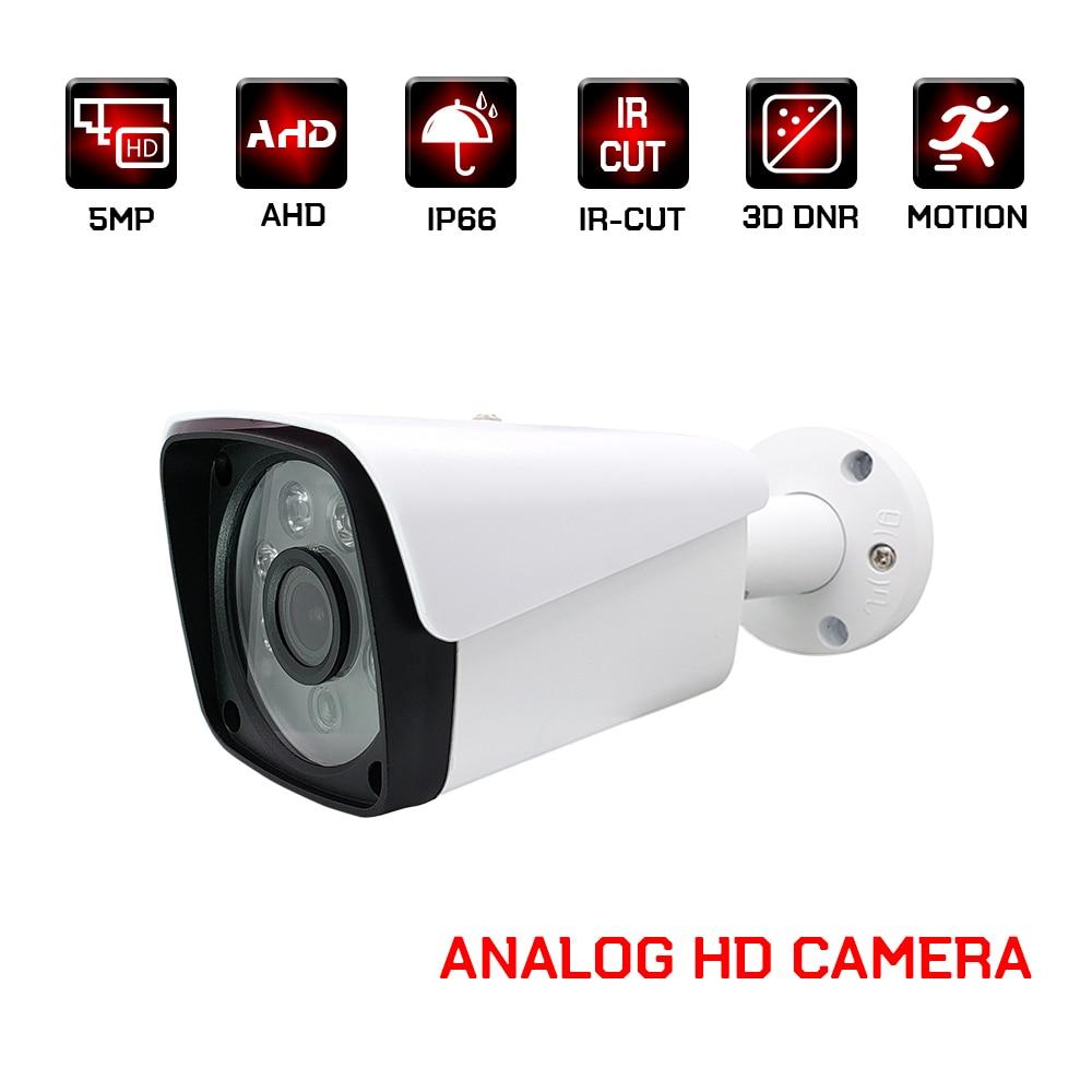2mp 4mp 5mp ahd câmera cctv câmeras analógicas de segurança vigilância vídeo ao ar livre à prova dwaterproof água para casa 1080p visão noturna infravermelha