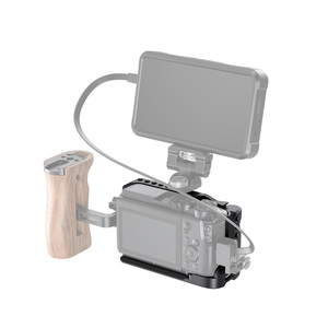 Image 5 - Cage de caméra petit modèle M6 pour Canon EOS M6 Mark II Dslr Cage de montage avec poignée intégrée/support de chaussure froide Vlog Rig  2515