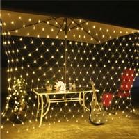 Net Mesh Fishing Net Lamp Flashing String Lights Fairy Light Outdoor Festival Waterproof Garden Durable Super Bright Romantic