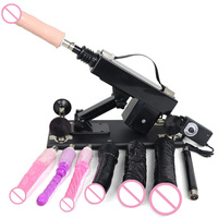 FREDORCH Sex Machine Automatic With Dildo Attachments Female Masturbation Pumping Gun Sex Products Toys For Adults Fuckmachines