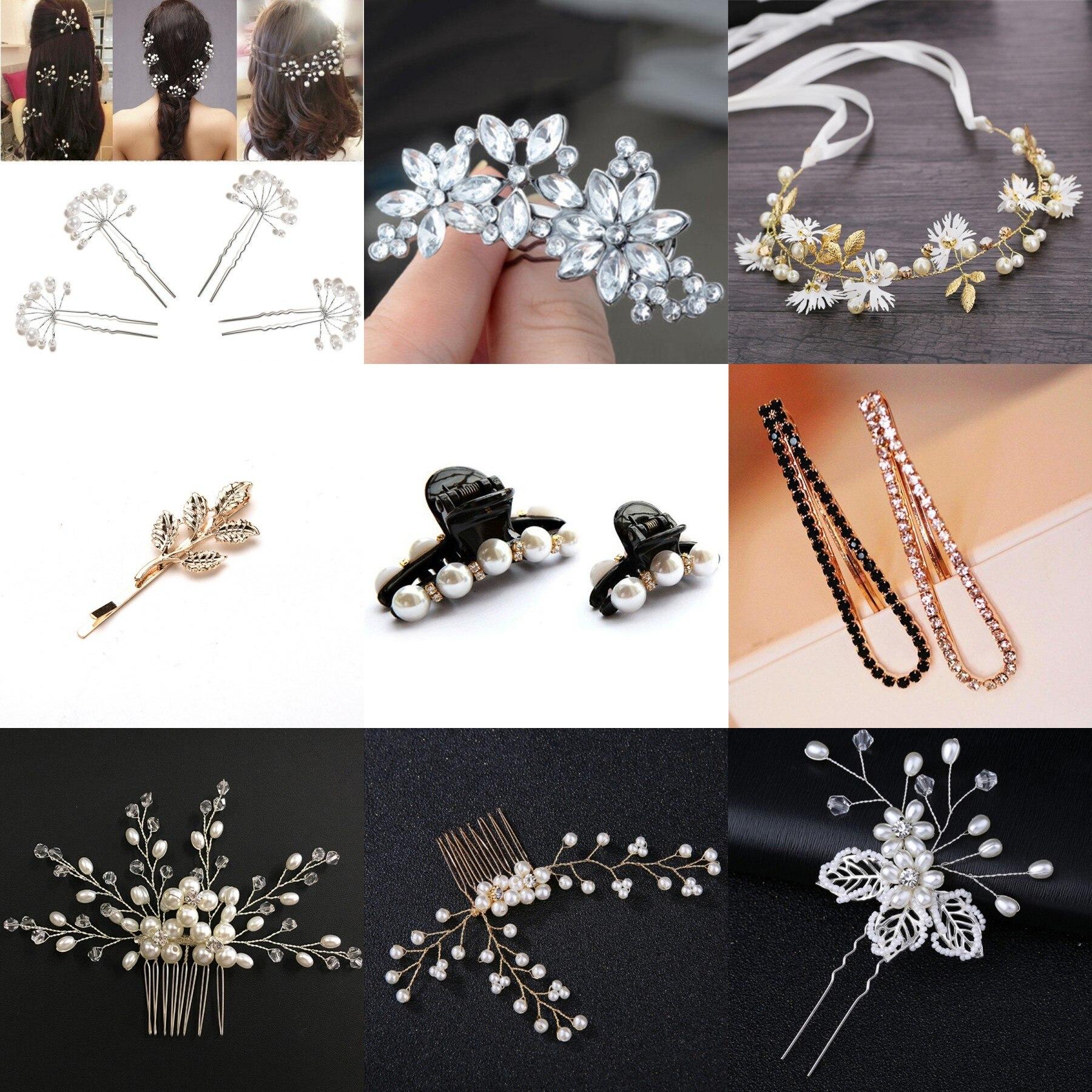 Womens//girls Bridal Silver Hair Stick Pins 20Pcs Brand New