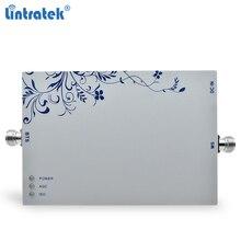 Lintratek 3G répéteur Signal Booster 2100Mhz 75dB bande 1 téléphone portable répéteur 3G WCDMA UMTS amplificateur de Signal Mobile 25dBm #7.5