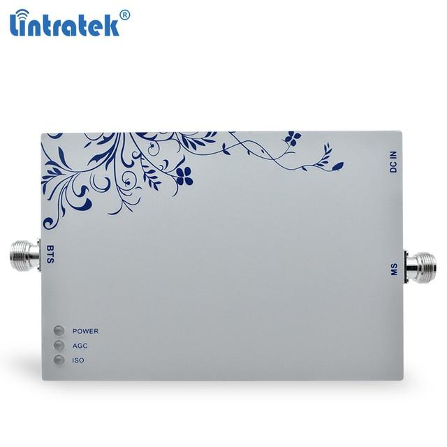 Lintratek 3G tekrarlayıcı sinyal güçlendirici 2100Mhz 75dB Band 1 cep telefonu tekrarlayıcı 3G WCDMA UMTS cep sinyal amplifikatörü 25dBm #7.5