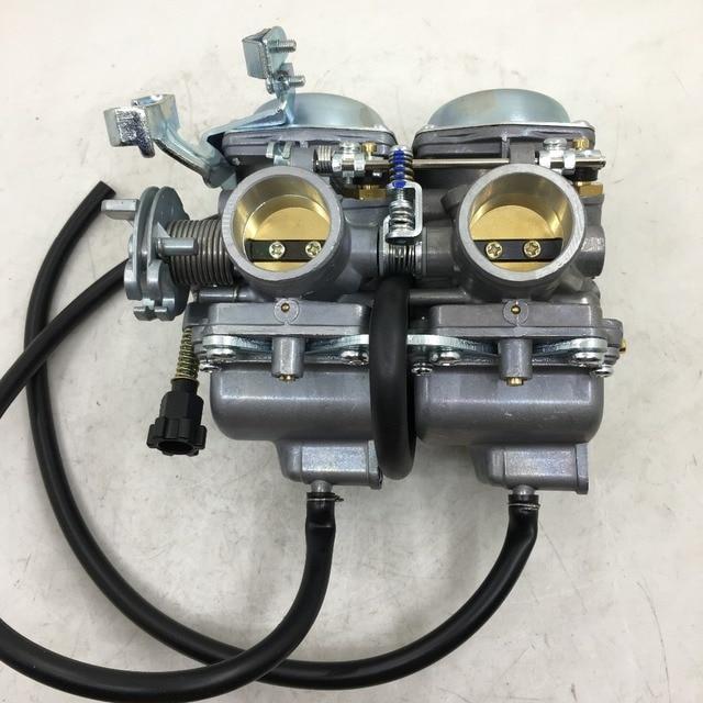 Carburateur SherryBerg carburateur vergaser PD26JS carburateur Carby Double Double Twin pour LIFAN LF250-4 vélo Double cylindre nouveau