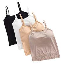 2020 Модные Женские однотонные цельные летние майки с запахом