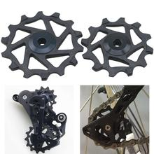 цена на High Quality 12T 14T Ceramic Bearing Derailleur Pulley Wheel for Shimano XTR M9000 M980 M8000