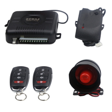 anti-hijacking two transmitters 100meters remote controlling car alarm