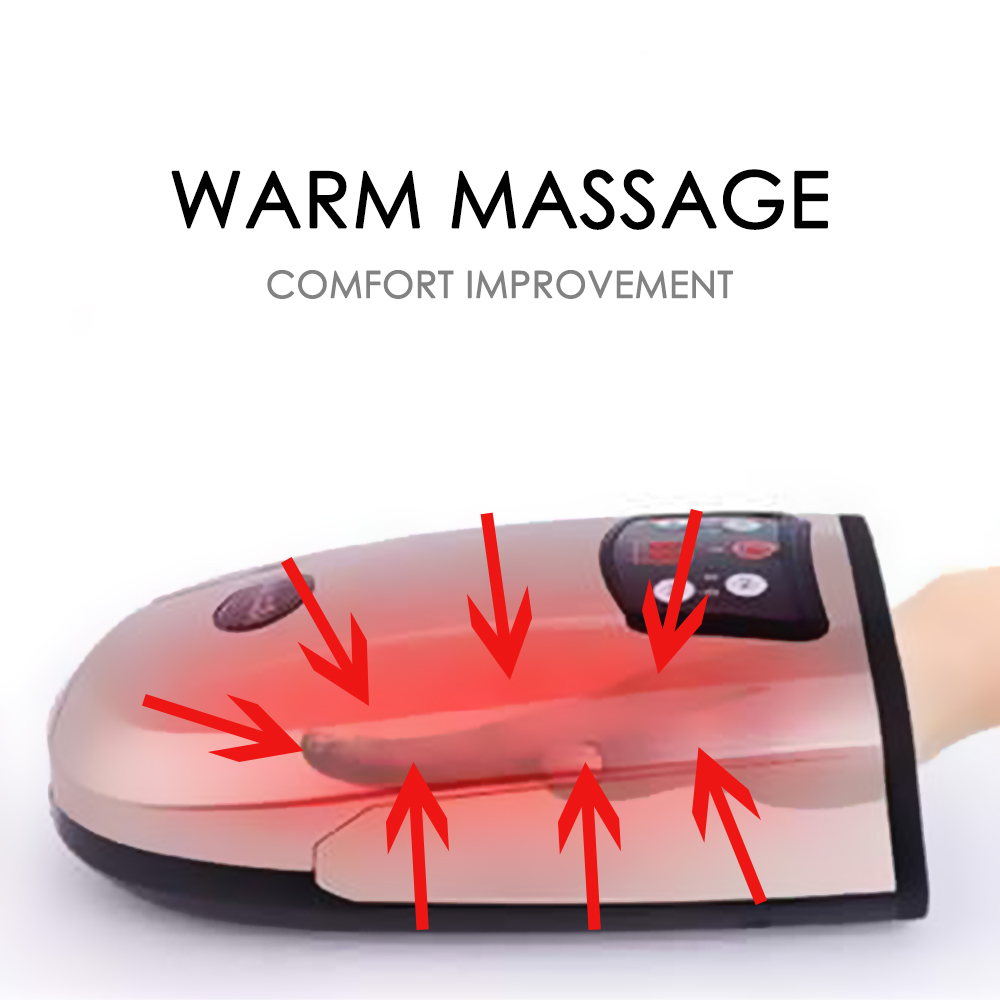 Beheizten Hand Massager Physiotherapie Ausrüstung Pressotherapie Palm Massage Gerät Luft Kompression Finger Massage Gerät-in Massage & Entspannung aus Haar & Kosmetik bei  Gruppe 2