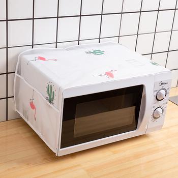Wodoodporny i olejoodporny piekarnik zakryte przechowywanie worek akcesoria kuchenne osłona przeciwpyłowa osłona do mikrofalówki akcesoria do dekoracji domu tanie i dobre opinie