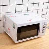 עמיד למים וoilproof תנור כיסוי אחסון תיק מטבח אביזרי אבק כיסוי מיקרוגל כיסוי עיצוב הבית וגינה|כיסויים למיקרוגלים|   -