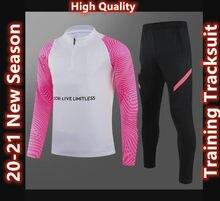 2021 new Men's Soccer Sports City Sweater Training Tracksuit Sets adult Survetement Tracksuit jogging kits S-XXL