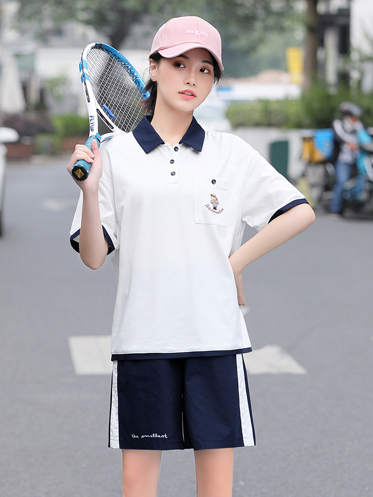 A Generation Of Fat Middle School Students Shorts Two-Piece Set 190116