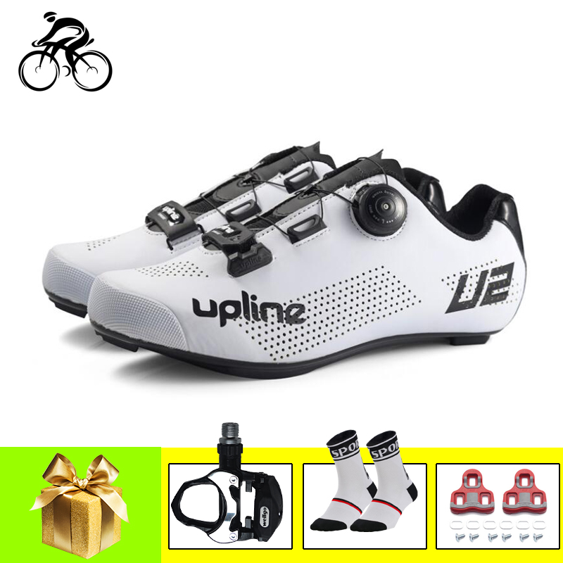 Road Cycling Shoes Sapatilha Ciclismo Men Riding Bike Sneakers Self-locking Breathable Ultra-light Women Road Cycling Shoes