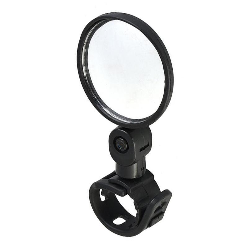 Handlebar Bike Rearview Convex Mirror Excellent Durable Plexiglass Silica Gel 360 Degree Rotation MTB Rear View Mirror