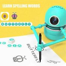 Desenhar bot desenhos animados tema imagens desenho robôs tecnologia crianças pintura automática aprendizagem arte formação máquina ece ece brinquedo