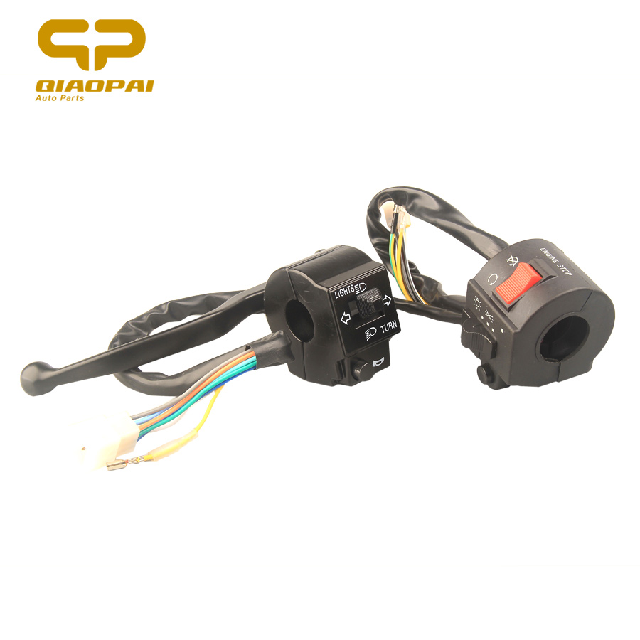 Motorcycle Handlebar Hand Combination Switch Turn Light Engine Stop Start-up Switch Left Right Seat for Suzuki GS125 GN125 Moto image