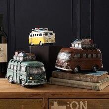 Ретро Англия креативная модель автомобиля украшение дома в помещении Гостиная Кабинет счетчик дисплей