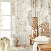 Papel pintado 3d impermeable grueso Panel de madera papel pintado para paredes autoadhesivo papel de Contacto Hotel biblioteca dormitorio sala de estar