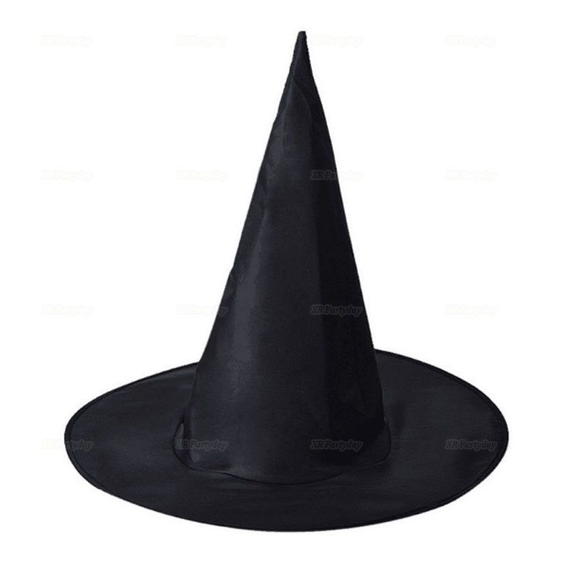 Schwarz Hexe Hüte Maskerade Wizard Hut Party Hüte Cosplay Halloween Party Phantasie Kleid Decor Top Hut Dropshipping navidad