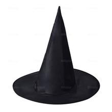 Черные Шляпы ведьмы; маскарадная Шляпа Волшебника; вечерние шляпы для костюмированной вечеринки на Хэллоуин; нарядное платье; декор; Топ; шляпа; Прямая поставка; navidad
