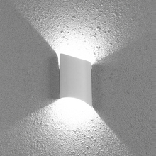 10W Outdoor LED Wall Sconce Light Fixture Waterproof Up/Down Lamp Courtyard Gate