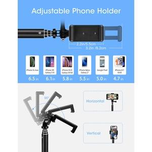 Image 4 - Mpow 074 Bluetooth Selfie Stick palo de Selfie extensible trípode incorporado GoPro, soporte de trípode desmontable para Selfie para teléfono