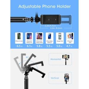 Image 4 - Mpow 074 Bluetooth Selfie bâton extensible Selfie bâton trépied intégré GoPro connecteur détachable trépied support pour téléphone Selfie