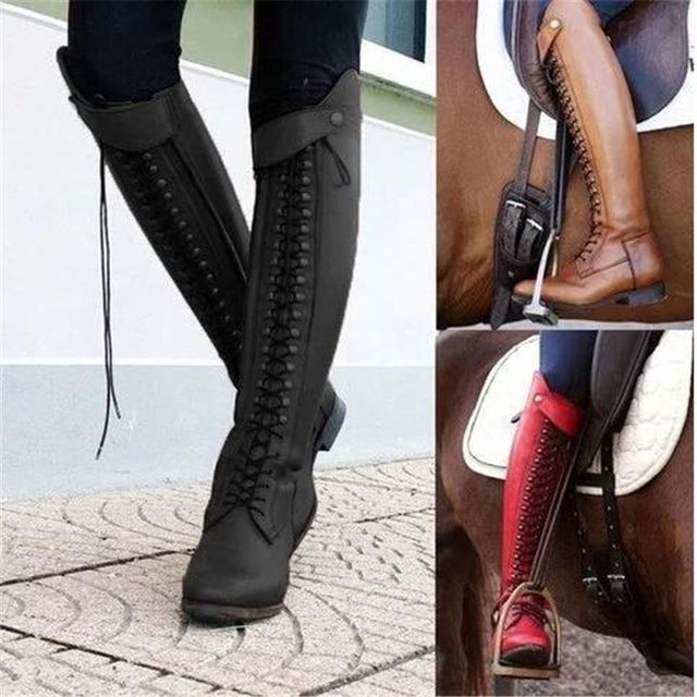 Womens Equestrian Riding Boots 6