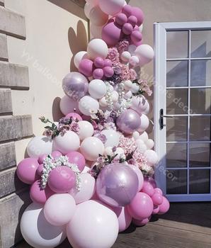 Balony Garland Arch zestaw pastelowy Retro brzoskwinia 135 sztuk DIY biały 4D różowe balony ślub na urodziny i bociankowe dekoracje świąteczne tanie i dobre opinie CN (pochodzenie) Owalne ROUND Lateks Tak ( 50 sztuk) Ślub i Zaręczyny Chrzest chrzciny Na Dzień świętego Patryka